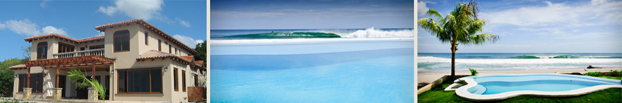 casa colorados beach front surf rental nicaragua